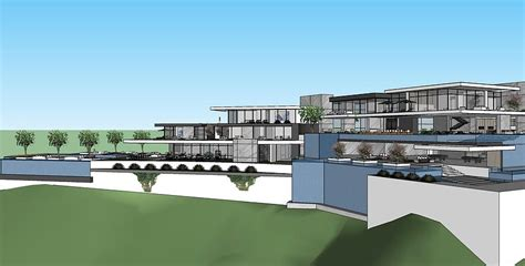 square foot proposed modern mega mansion  beverly hills ca homes   rich