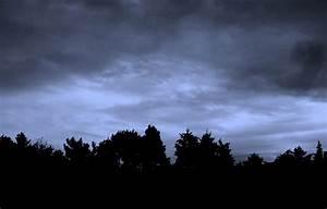 On Black: Dark cloudy sky by iwayan [Large]
