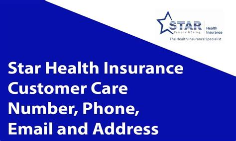 The insurance products are underwritten by respective insurance company. Star Health Insurance Helpline Number, Address, and Email ...