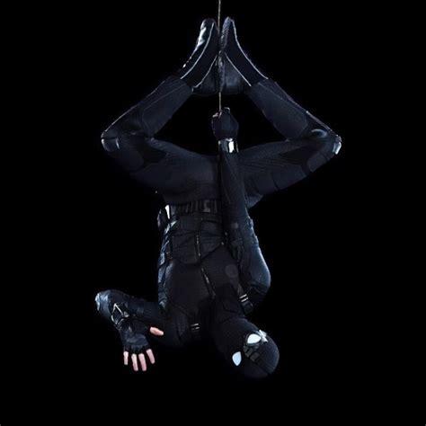 spider man   home stealth suit   wallpaper
