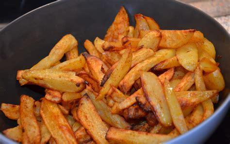 cuisine udiant recette frites quot maison quot sans friteuse économique