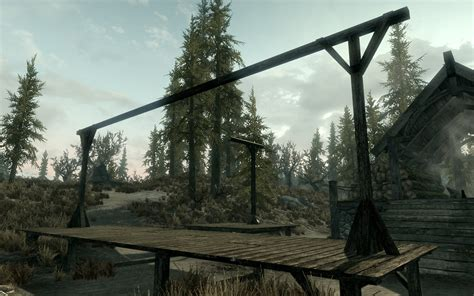 hanging ls that in gallows just another resource at skyrim nexus mods and
