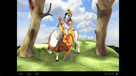 Krishna Animated Wallpaper Free - krishna free animated 3d live wallpaper for mobiles
