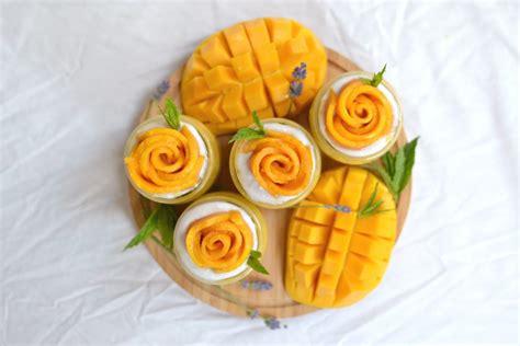 cuisine cup mango sago pudding radiant rachels
