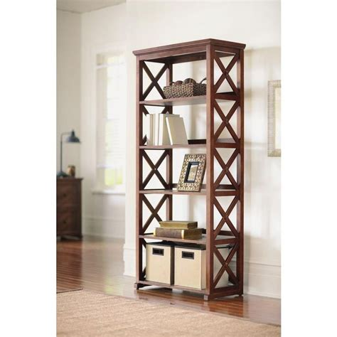 Home Decorators Collection Home Depot by Home Decorators Collection Bookcase Brexley Chestnut 5