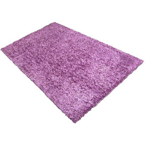 tapis violet shaggy lilou l 120 x l 170 cm leroy merlin