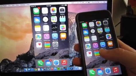 how to display iphone on mac record iphone ipod touch screen with mac osx 1045
