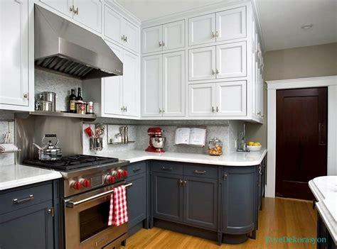 kitchen cabinets painted blue mutfak dolapların farklı renkler ev dekorasyonu 6295