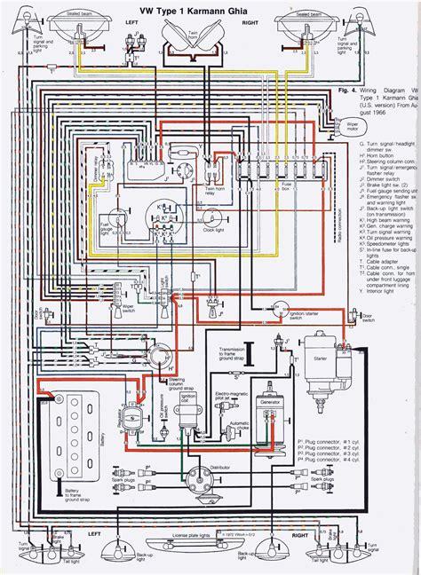 1967 Vw Engine Diagram by Cableado Karmann Ghia Autos Volkswagen Karmann