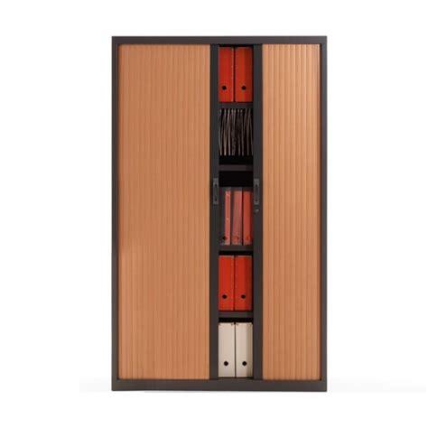 armoir de bureau armoire à rideau métallique h198 cm armoire à rideau de