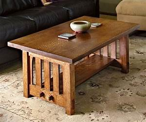 how to build a mission style coffee table in the arts and With bench style coffee table
