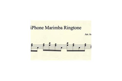 baixar grátis apple iphone ringtone marimba