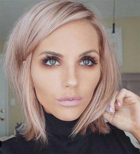 kurze bis mittlere haarschnitte fuer damen trend frisuren