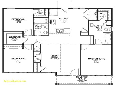 Small Simple 4 Bedroom House Plans
