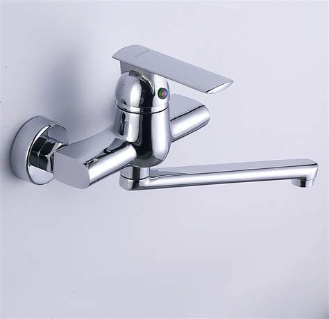 wall mounted chrome kitchen faucet  wholesale faucet  commerce
