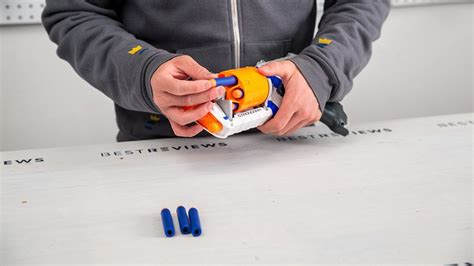 Its made with four 1200mm fence pales and cost around $15 aud. The best Nerf gun of 2020 - New York Daily News