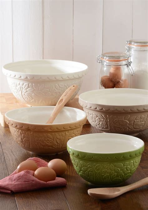 mixing bowls bowl mason kitchen cash forest ceramic pottery baking crocks sets country ironstone accessories collections these things farmhouse friday