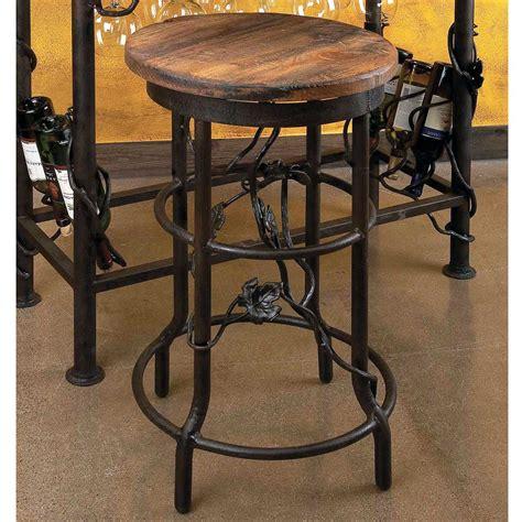 iron bar stools iron counter stools vineyard bar stool by toscana 9011