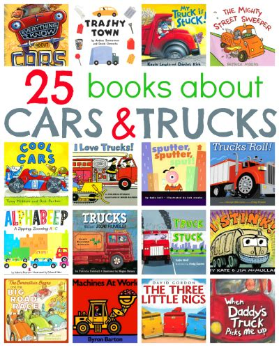 books about cars and how they work 2012 honda pilot lane departure warning 25 picture books about cars and trucks