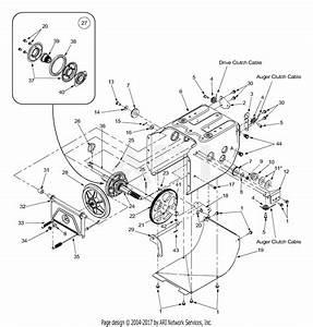 Mtd 31ae6cof300  2003  Parts Diagram For Frame