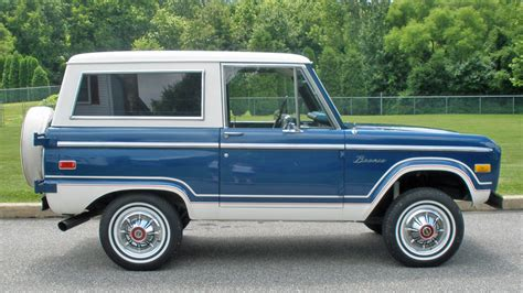 classic ride 1976 ford bronco ranger a continuous lean