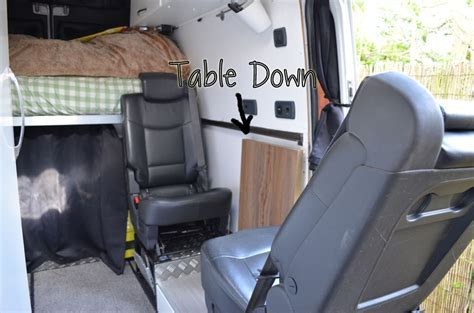 The Table   Sprinter Van Conversion   Our AdVANture