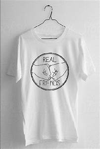 Real Friends Band Logo Tee Crooked Youth by ...