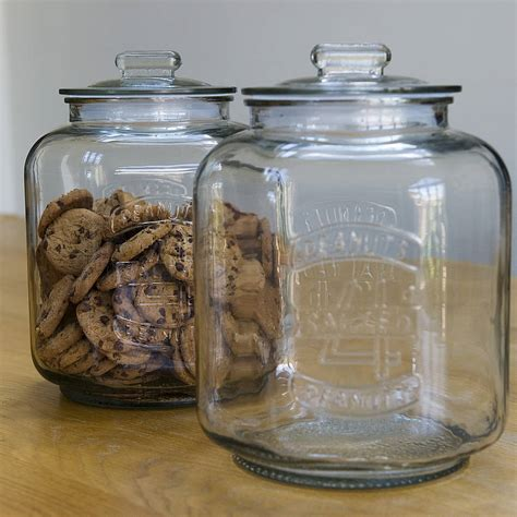 best glass cookie jar home ideas collection