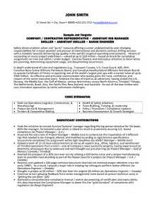 rig resume cover letter top gas resume templates sles