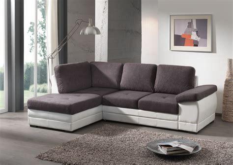 canapé tissu contemporain canapé d 39 angle contemporain convertible en tissu coloris
