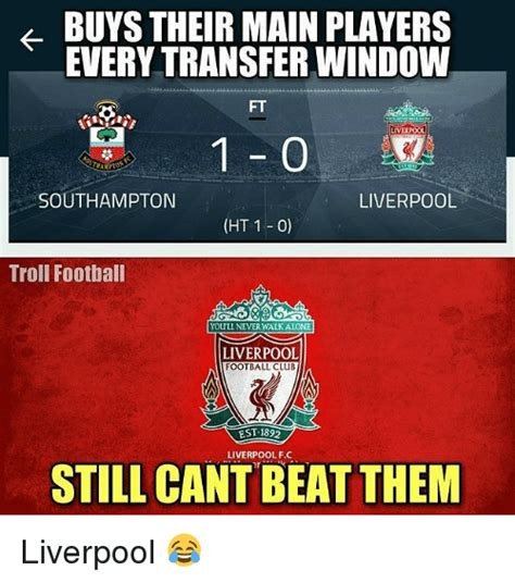 Liverpool Memes - 25 best memes about liverpool f c troll and trolling liverpool f c troll and trolling memes