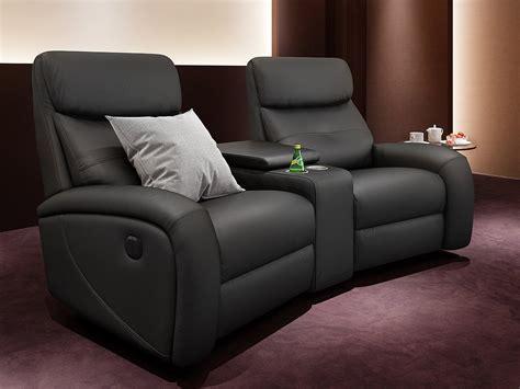 Heim Kinosofa Leder Garnitur Relax Couch Tvsofa Kino