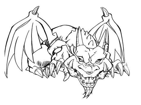 disegni da colorare di yu gi oh yu gi oh drago da stare e da colorare gratis disegni