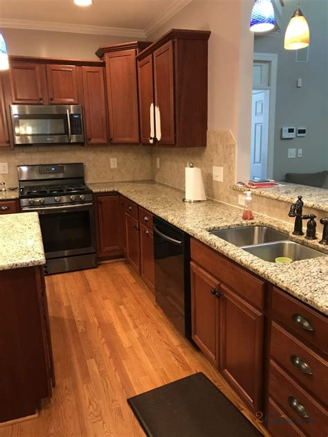 kitchen cabinets  island painted white duck white