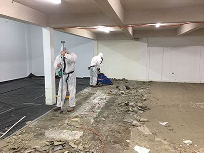 case study asbestos floor tile removal  operational