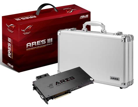 asus republic of gamers announces ares iii videocardz