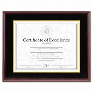 hardwood document certificate frame w mat 11 x 14 8 1 2 With document frame with mat