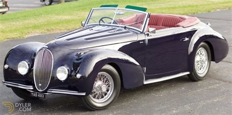 Delahaye 135 For Sale by Classic 1946 Delahaye 135m By Graber For Sale Dyler