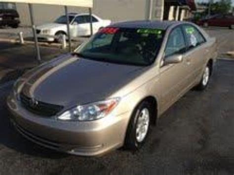 Toyota Fayetteville Ar by 2003 Toyota Camry Le For Sale Fayetteville Ar V6 6