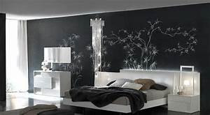 Moderne Wohnzimmer Wandgestaltung : das italienische schlafzimmer ist im trend ~ Michelbontemps.com Haus und Dekorationen