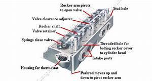 Excavator Diesel Engine 4bd1 Or 4bg1 Cylinder Head 4