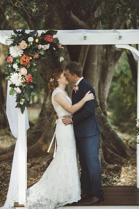 colourful sunshine coast country property wedding  nambour