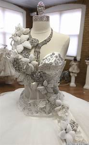 80 pound wedding dresses bedazzled in jewels this gypsy With how much are sondra celli wedding dresses