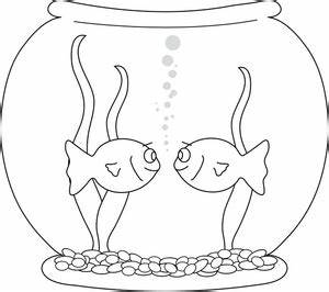 Fish bowl fishbowl clipart image goldfish in a - ClipartBarn