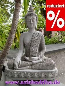 Buddha Figur 150 Cm : xxl thai buddha budda figur statue feng shui ca 40 cm sitzend steingrau neu ebay ~ Buech-reservation.com Haus und Dekorationen
