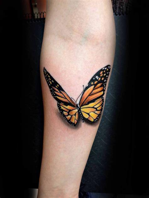 inspiring butterfly  rose tattoos