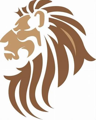 Lion Vector Template Silhouette Templates Vectors Svg