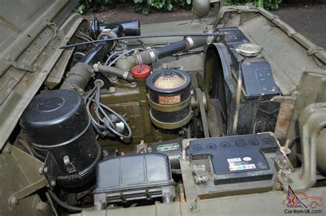 wwii jeep engine us ww2 willys jeep willys mb original 1945