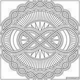 Mandala Infinity Coloring Pages Transparent Adult Donteatthepaste Colouring Idic Patterns Version Paste Eat July sketch template