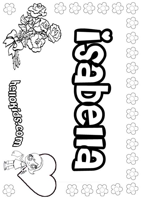 isabella coloring pages hellokidscom